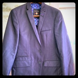 Men L blue Macy blazer